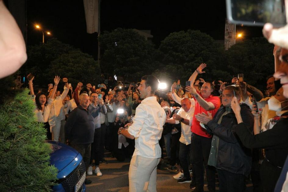 BEOGRAD GORI ZBOG NOVAKA: Spektakularan vatromet u čast Đokovićeve pobede na Rolan Garosu VIDEO