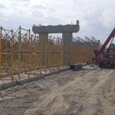 BEOGRADE, ŠTO NE MOŽE NIKO MOŽEŠ TI: Gradi se novi nadvožnjak preko brze pruge u Batajnici (FOTO)