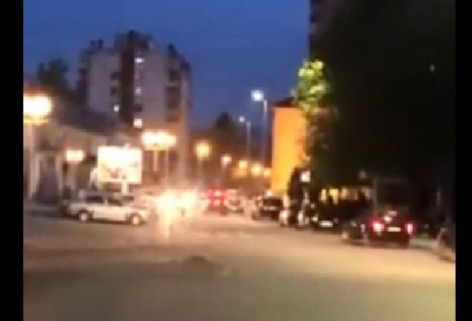 BERANCI OPET BRANE SVETINJE Kolone automobila u centru grada, građani skandiraju: NE DAMO SVETINJE! (VIDEO)