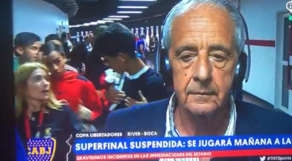 BEŽIIII! ŽIVU GLAVU SAČUVAJ! Horda BESNIH navijača Rivera krenula ka predsedniku! Pogledajte kako se spasio u poslednjem trenutku da ga ne IZGAZE (VIDEO)