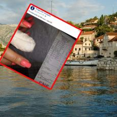 BEZOBRAZLUK! Devojka povredila prst u Kotoru i otišla kod doktora! Kad je videla račun ŠOKIRALA SE