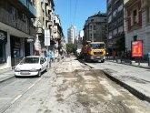 BG: Centar prekopan - zbogom starom asfaltu FOTO