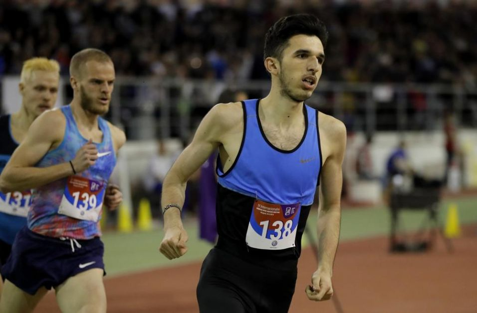 BIBIĆ POSTAVIO REKORD: Sjajan rezultat srpskog atletičara u Geteborgu