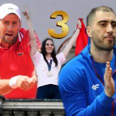 BIĆE UZBUDLJIVO TREĆEG DANA IGARA: Novak ponovo na terenu, košarkašice počinju pohod na medalju (FOTO)