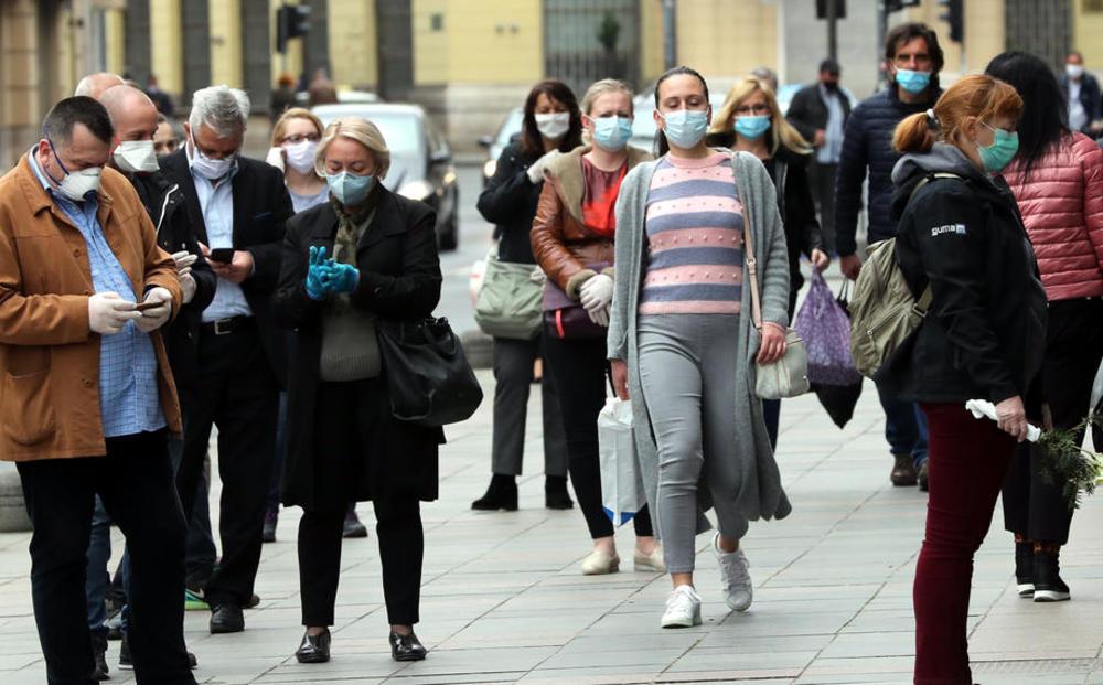 BIH U PAKLU KORONE: Za 24 sata potvrđeno 1.179 novozaraženih, preminula 62 pacijenta! Novi slučajevi registrovani u svim kantonima