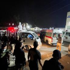 BILANS UŽASA U BAGDADU! Veliki broj mrtvih i hospitalizovanih nakon eksplozije boce s kiseonikom - požar lokalizovan (VIDEO)