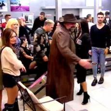 BILJIĆEVA ŽIVNULA: Ovako su se Nadežda i Miki pozdravili kad je ušao u Zadrugu 2! Upečatljivo (VIDEO)