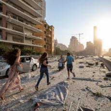 BIO SAM PREVIŠE BLIZU, A ONDA SAM IZGUBIO SLUH: Tragična ispovest očevica koji je iskusio EKSPLOZIJU u Bejrutu