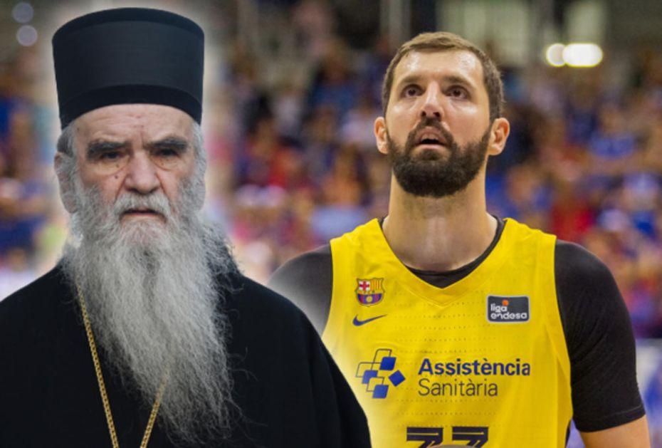 BIO SI SMRTAN, VIŠE NISI: Nikola Mirotić se dirljivom porukom oprostio od mitropolita Amfilohija!