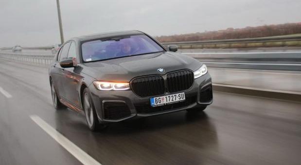 BMW 730d xDrive na testu Auto magazina