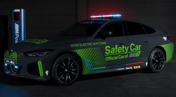 BMW i4 M50 Safety Car za MotoE takmičenje
