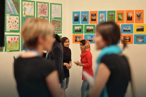 BOJE ŽIVOTA Beograđani imali prilike da pogledaju likovne radove izbeglica iz prihvatnih centara