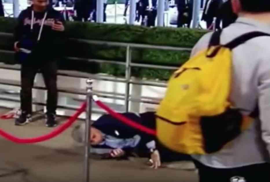 BOLNA BLAMAŽA PORTUGALCA NA VEMBLIJU: Pogledajte kako se Murinjo prosuo i poljubio patos! (VIDEO)