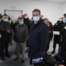 BOLNICA NAM JE NEOPHODNA Vučić: Kada smo pričali o ovoj zgradi, mnogi su bili protiv, a sada može da nas spase
