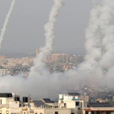 BOMBE LETE OD RANE ZORE: Izraelske snage sistematski gađale mreže tunela Hamasa, ispaljeno više od 120 projektila