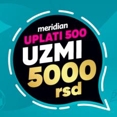 BONUSI OVDE PADAJU S NEBA: Uplati 500 i dobijaš 5.000 DINARA za online klađenje!
