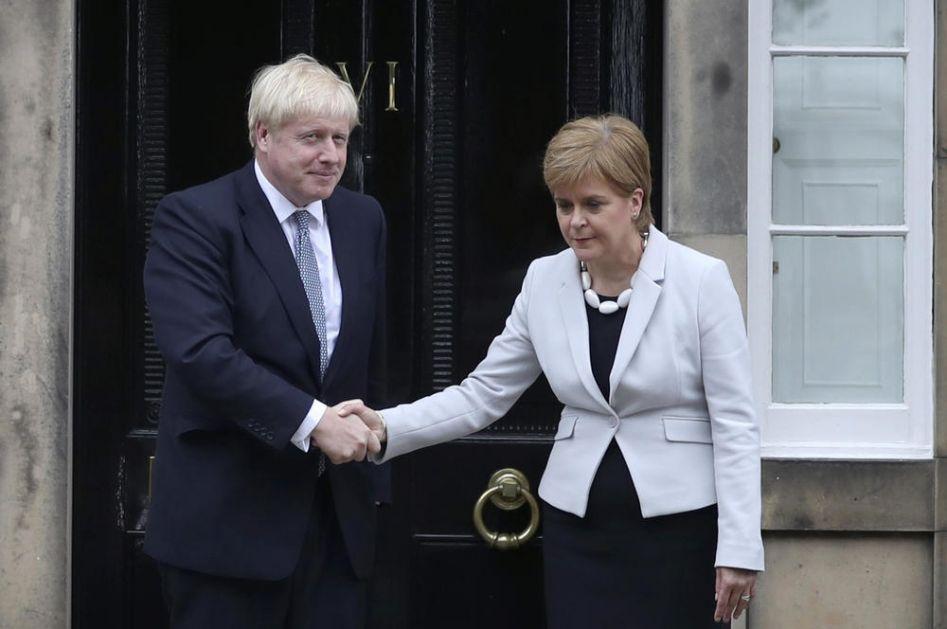 BORIS DŽONSON IZVIŽDAN U ŠKOTSKOJ: Predsednica škotske vlade na odustaje od priprema za referendum o nezavisnosti!