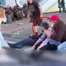 BOŠKO I NJEGOVI FOLIRANTI NA DELU! Izmislili da su ih demonstranti PREBILI, pa još i lažno padaju u NESVEST! (VIDEO)