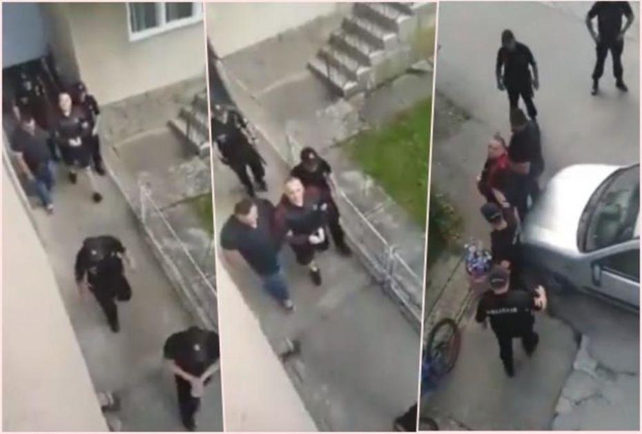 BRAĆO I SESTRE, EVO VODE VUKA! NE DAMO SE! ŽIVELA SRBIJA: Ovako Đetići prkose Milovoj policiji! (VIDEO)