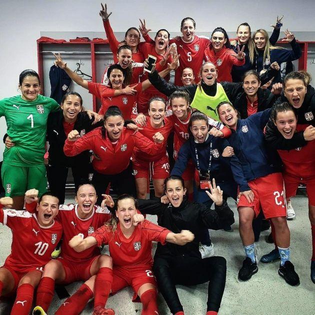 BRAVO, DEVOJKE: Srpkinje na tri boda do Evropskog prvenstva u fudbalu!