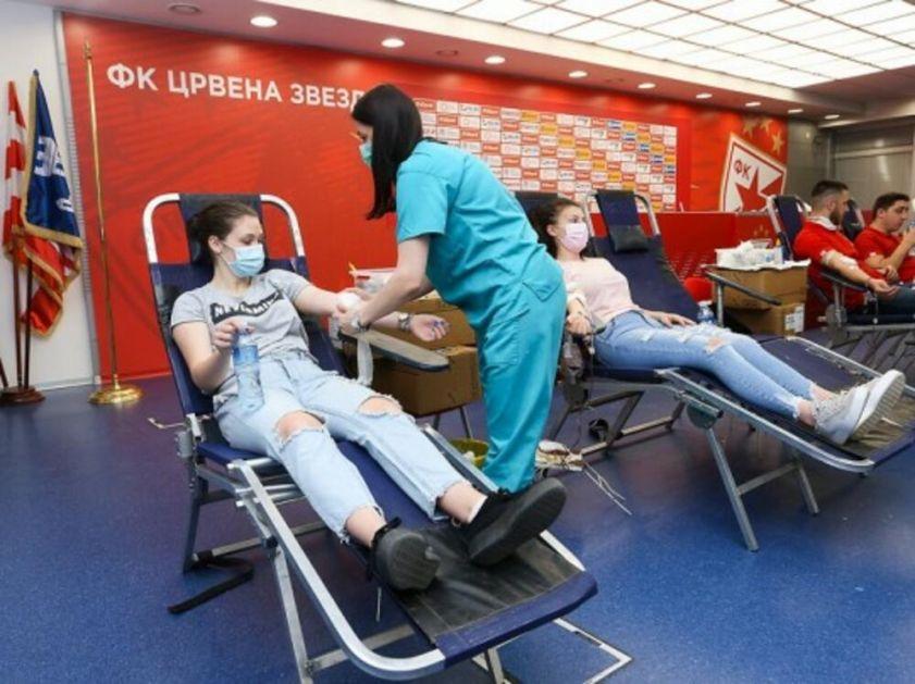 BRAVO: Zvezdaši prikupili 280 jedinica krvi
