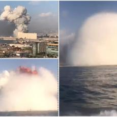 BRUTALAN NAPAD NA LIBAN! Strašne eksplozije odjekuju Bejrutom (EKSKLUZIVAN SNIMAK)