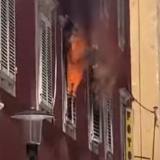 BUKTI POŽAR U ZADRU! U toku je evakuacija, gradom kulja gust dim! (VIDEO)
