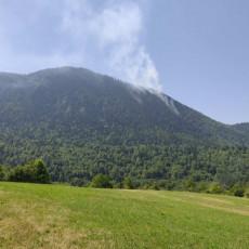 BUKTI VATRA! Šumski požar zahvatio Taru, vatrena stihija nadire iz Bosne (FOTO)