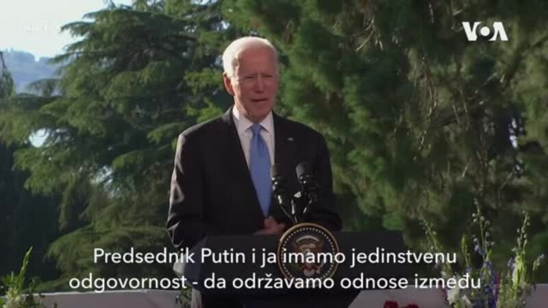 Bajden: Odnosi SAD i Rusije da budu stabilni i predvidljivi