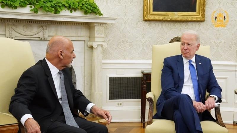 Bajden podržao avganistanskog predsednika Ganija
