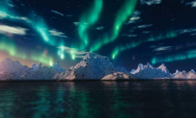 Bajkovito selo savršeno za gledanje polarne svetlosti