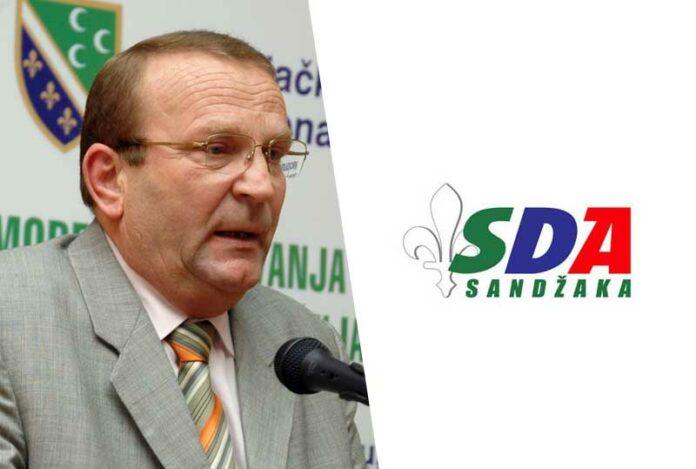 Bajro Gegić isključen iz članstva SDA Sandžaka