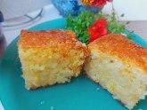 Bakina kuhinja: Brz kolač sa kokosom i sokom od pomorandže