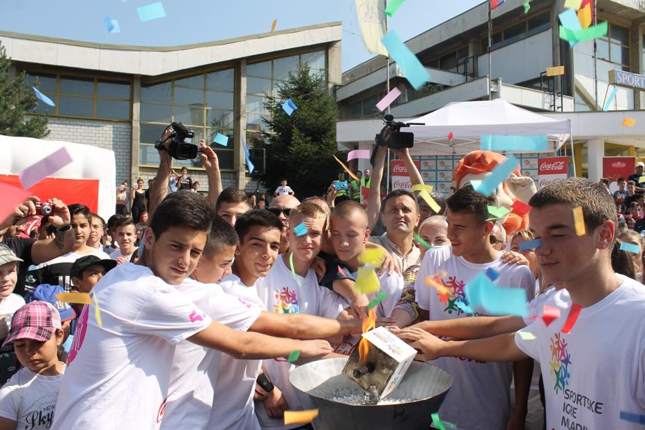 Bakljom prijateljstva otvorene Sportske igre mladih