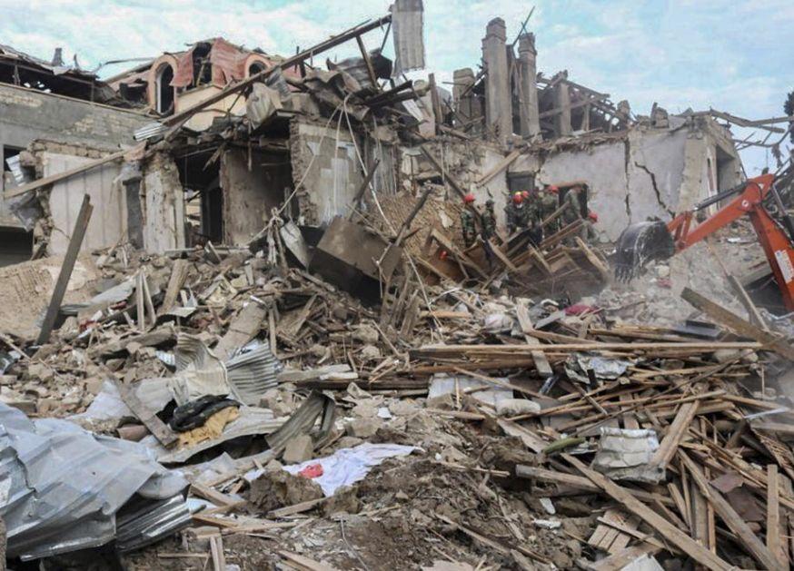 Baku optužuje Jerevan za kršenje primirja