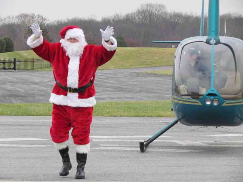 Balkan Helicopters organizuje obilazak Beograda sa pilotom u ulozi Deda Mraza