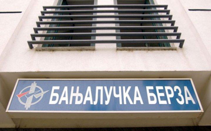 Banjalučka berza: Akcijama Nove banke trgovano u iznosu 750.000 KM