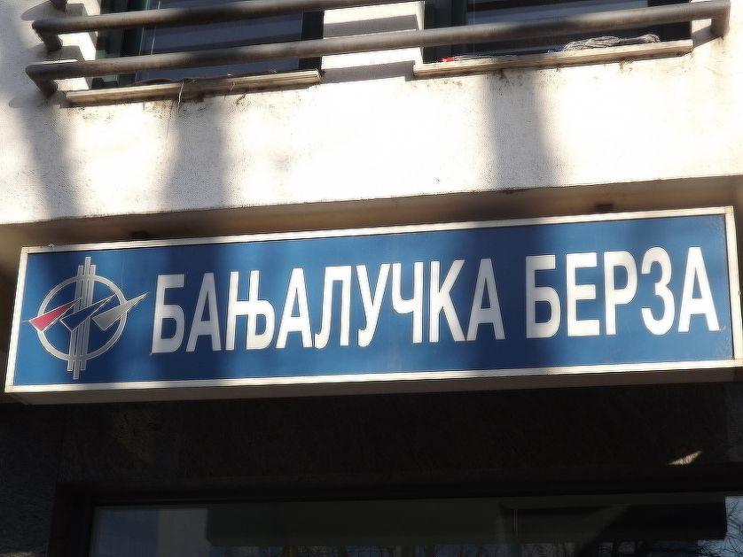 Banjalučka berza: Ostvaren promet od 111.891 KM