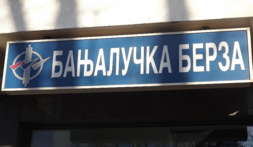Banjalučka berza: Promet 3,85 miliona KM