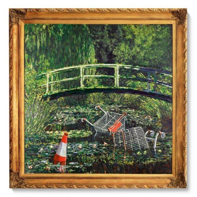 Banksijeva slika prodata za gotovo 10 miliona dolara