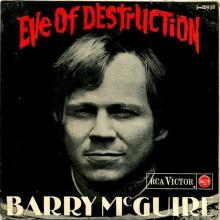 Barry McGuire - Eve Of Destruction, Live Hullabaloo 1965