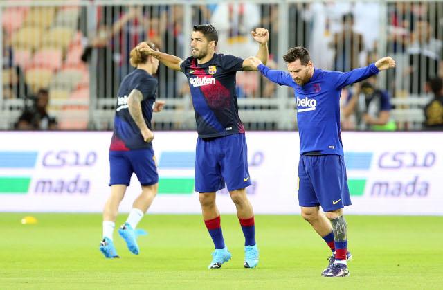 Barsa pobedila, a utehu pronašao i Luis Suarez