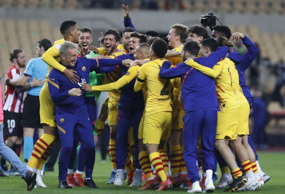 Barselona osvojila Kup kralja