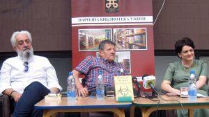 Basara na promociji romana o Titovom spomeniku, Andriću, Dilanu, Handkeu…