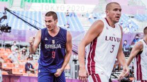 Basketaši Letonije u finalu OI, Srbija za bronzu protiv Belgije
