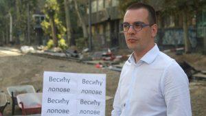 """Bastać: Nismo pokušali da uđemo u zgradu """"Progresa"""", to je Vesićev spin"""