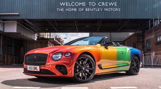Bentley Continental GT Cabrio u duginim bojama nosi važnu poruku