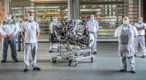 Bentley V8 L-Series motor prestao sa proizvodnjom