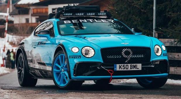 Bentley kreirao snežni Continental GT