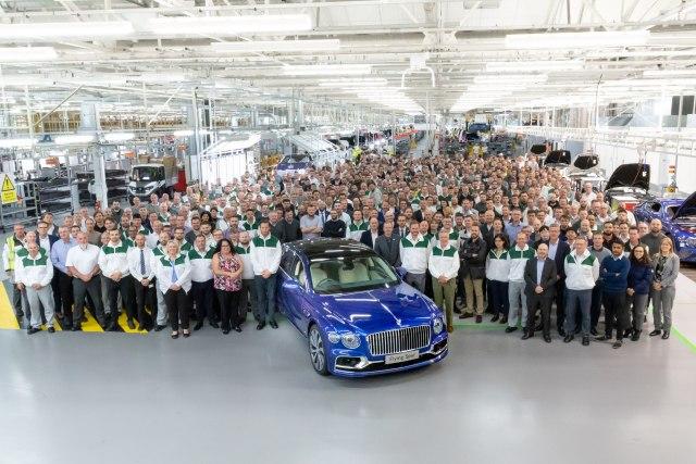 Bentley lansirao novu spektakularnu limuzinu FOTO